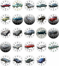 Wall clock With Motif: Opel Car VEHICLE PART 3 - more share in the Shop