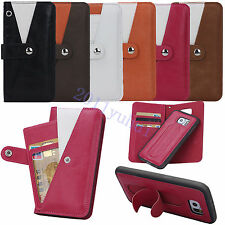 Top quality Leather Wallet Cards Pouch Case Cover For Samsung Galaxy S6/S6 Edge