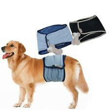 Male Dog Belly Band Diaper Nappy Underwear Sanitary Peeing Training Size XS-XL