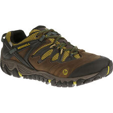 Merrell Mens ALLOUT BLAZE WATERPROOF Hiking Shoes CLAY Oily Leather J32761