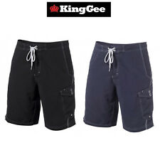 Mens KingGee Workwear Surf Board Shorts Boardies Safety Tough Durable K17280