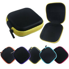 New Zipper Storage Bag Carrying Case for Hard Keep Earphones SD Card Area Case