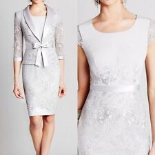 Lace Free Jacket Mother of the Bride Dress/Outfit Lace Knee Length Wedding Party