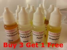 Cosmetic Grade Fragrance Oil - Soap, Bath Bomb Making 10ml Buy 3 Get 1 Free