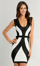 Women Sleeveless Bodycon Evening Party Pencil Cocktail Bandage Mini Dress RM22