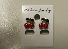 Cherry earrings,NEW! Rockabilly Buy 3 cherry items&get FREE UK POST