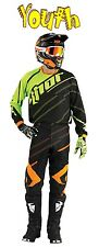 THOR Phase VENTED Kit YOUTH BLACK FLUORESCENT 2016 MOTOCROSS ENDURO JERSEY PANT