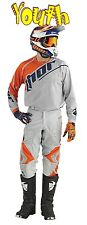 THOR Phase VENTED Kit YOUTH DOPPLER GRAY ORANGE 2016 MOTOCROSS JERSEY PANT