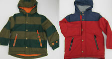 BODEN BOYS PADDED FLEECE LINED ANORAK JACKET COAT AGES 1-12  BNWOT