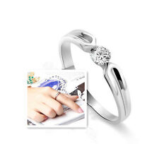 S925 Sterling Silver Unisex Ring/18K GP/Can Be Couple's Ring Set
