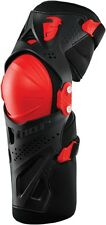 2016 Thor MX Force XP Knee Guards Braces BLACK/RED  ALL SIZES  MX  BMX ATV