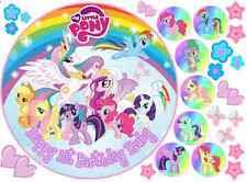 EDIBLE MY LITTLE PONY RAINBOW 8