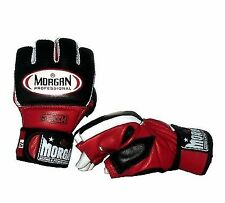 MORGAN MMA GEL HYBRID LEATHER BAG GLOVES S M L XL