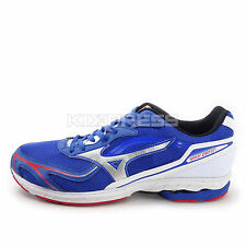 Mizuno Wave Idaten Dyna Wide [J1GA148703] Running Blue/Silver-White