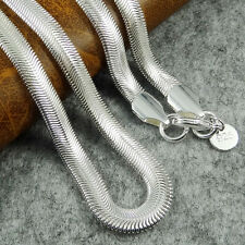 9styles Women Lady Silver Plated Snake  Bead Box Necklace Chains Best Match