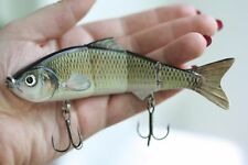 "36g 6"" Multi Jointed Fishing Lure Bait Swimbait Life-like Shad Real"