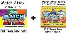 Match Attax + Extra Team Base Sets including Duo 2014/2015 14/15 Topps Captains