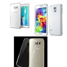 New Ultra Thin Clear Soft Silicone Gel TPU Case Cover For Samsung Galaxy Phone