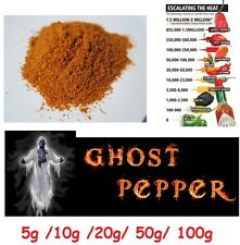 POWDER dried ghost pepper pod / bhut jolokia the hottest in the world chili