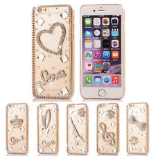 3D Clear Bling Diamond Crystal Hard Case Cover for iPhone 6 6s Plus