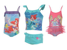 GENUINE OFFICIAL - DISNEY SWIMWEAR Girls Swim Suit Costume Swimming Outfit Age