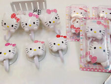 2 x 1 Set New HelloKitty Cute peg to a suction cup type hook aa-988 2pcs
