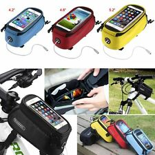 ROSWHEEL CYCLE BIKE BICYCLE FRONT TUBE FRAME POUCH BAG MOBILE PHONE HOLDER CASE