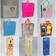 Party Gift Bag Birthday Wedding Present Loot Paper Various Designs Recyclable