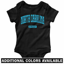 North Carolina Represent One Piece - UNC Baby Infant Creeper Romper - NB to 24M