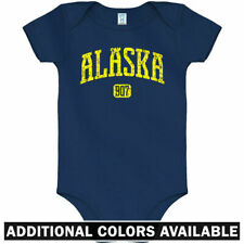 Alaska 907 One Piece - Anchorage Juneau Baby Infant Creeper Romper - NB to 24M