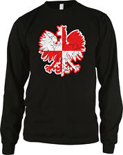Polish Coat of Arms Rzeczpospolita Polska Poland Pride Long Sleeve Thermal