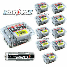 Rayovac AA Battery Batteries 240 Pack Lot Bulk Reclosable Ultra Pro ALAA-24x10