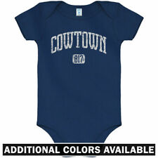 Cowtown 817 Ft Worth One Piece - Texas TCU TX Baby Infant Creeper Romper NB-24M