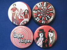 Great Band The White Stripes  4 New pin backs buttons SELECT SIZE badges NEAT