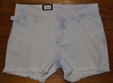 Rock & Republic Jean Shorts Skull Accents Frayed Distressed Hula Short MSRP $54