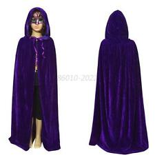 Halloween Fancy Dress Costume Child Kids Girl Boy Hooded Velvet Cape Cloak B81