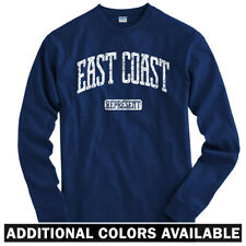 East Coast Represent Long Sleeve T-shirt LS - DC NYC Philly Boston - Men / Youth