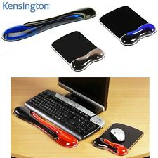 KENSINGTON DUO GEL WAVE BLUE OR RED SMOKE COLOUR MOUSE MAT KEYBOARD WRIST REST