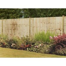 Grange 5ft High Wooden Professional Feather Edge Garden Fence Panel