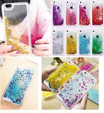 Clear Dynamic Star Liquid Glitter Quicksand Case Cover for Phone iPhone Samsung