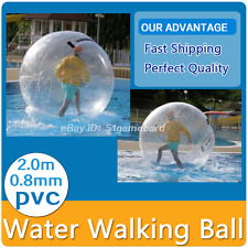 Water Ball 2M(6.6ft) Inflatable Water Walking Ball Zorb Ball Dance/Rolling Ball