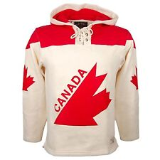 Team Canada 1976 Canada Cup Heavyweight Jersey Lacer Hoodie