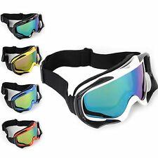 Motocross Off-road ATV Scooter Motorcycle Protector Goggles Glasses Mirror Lens