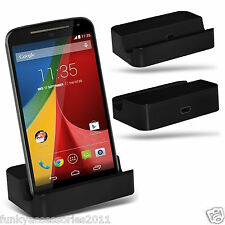 Desktop Charging Dock Stand Charger Micro USB?Vodafone Smart 4 Turbo