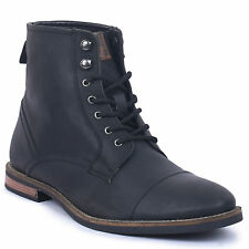 Men's Ben Sherman Luke Lace-up Boots black mens shoes casual