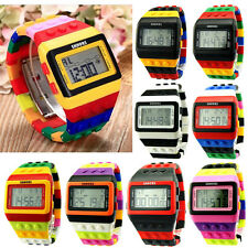 2015 Casual Colorful Digital Watches LED Children Unisex Wrist Watch Sport Watch
