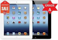 Apple iPad 3rd Gen - 16GB - Wi-Fi + 3G (UNLOCKED) BLACK or WHITE - GRADE A (R)