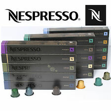 GENUINE NESPRESSO COFFEE CAPSULES  - CHOOSE YOUR OWN - 20 30 40 50 80 100 PODS