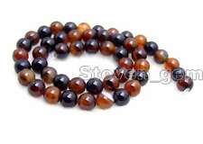 "SALE  Round 8mm high quality multicolor agate gemstone Beads strand 15""los226"