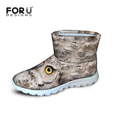 Cool Mens Winter Snow Boots Waterproof Outdoor Warm Casual Shoes Short Boot New
